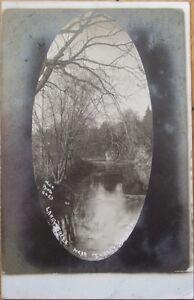 1909-Realphoto-Postcard-039-Larry-039-s-Creek-Jersey-Shore-Pennsylvania-PA-039