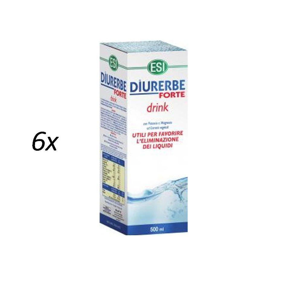 ESI 6x DIURERBE FORTE CONCENTRATO 6 FAVORISCE ELIMINAZIONE LIQUIDI 6 CONCENTRATO x 500ML= 3 LT 604113