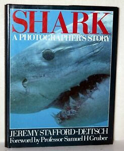 Book SHARK A Photographer's Story by Jeremy Stafford