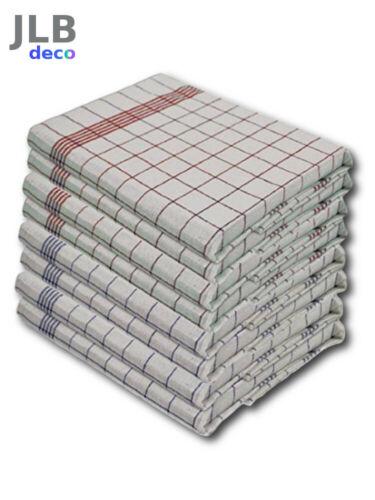 100/% Coton 50x70 cm vaisselle Lot 6 ou 12 Torchons de cuisine