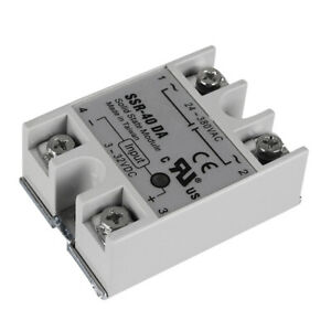 24V-40A-Single-Phase-SSR-40-DA-Solid-State-Relay-Module-For-3D-Printer-Parts