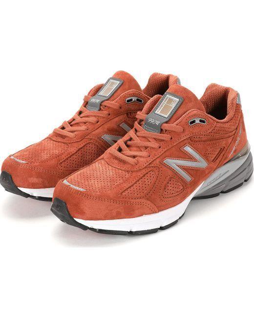 NIB New Balance MENS M990JP4 990 Orange JUPITER MADE IN USA RUNNING Turnschuhe