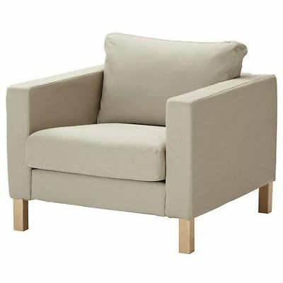 NEW IKEA KARLSTAD Armchair Chair Cover Slipcover - Sivik ...