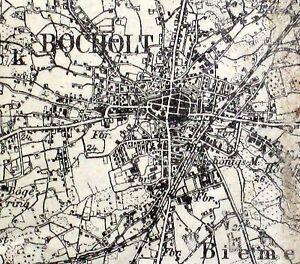 Einheitsblatt 70 Bocholt Karte Des Deutschen Reiches 1 100 000