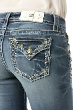 Miss Me Skinny jeans - size 34 - NWT - design in back & front