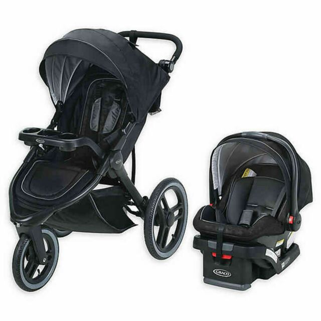 Graco Jogger Stroller Travel System with SnugRide 35 LX ...