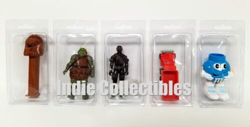STAR WARS BLISTER CASE LOT 10 Action Figure Display Protective Clamshell MEDIUM
