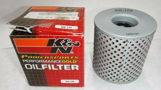 K/&N OIL FILTER 1978-1980 KZ 1000E Shaft KAWASAKI KN-126