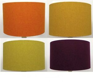 Mira-Brushed-Linen-Style-Drum-Lampshade-Ceiling-Pendant-Table-Lamp-Light-Shade