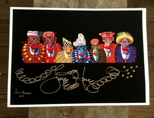 signed Zeppelin Fine Art Giclee Jamie Hayes New Orleans The Blimp Pilots
