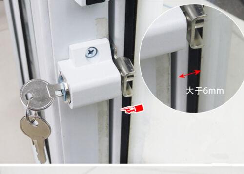 Keyed Alike White Keyed Double Hung Sash Window Lock