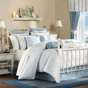 Harbor-House-Crystal-Beach-Comforter-Set-4Pcs-100-Cotton