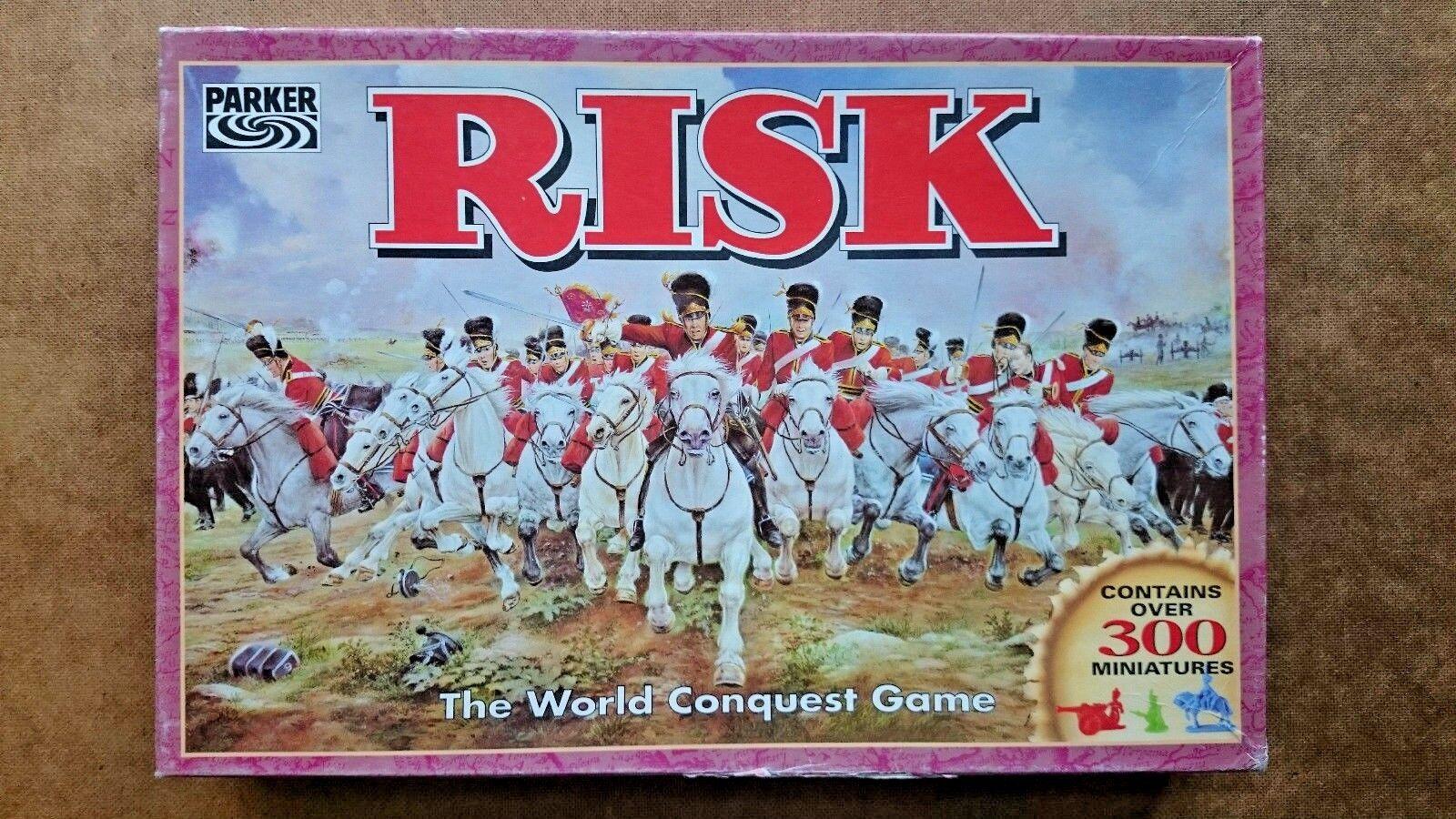 Célébrez Noël, accueillez le Nouvel An vous et vous An le rend! Risk The World Conquest Jeu par Parker 1996 bb9202