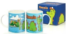 Nessie Bone China Mug Loch Ness Monster Scotland Scottish Cartoon Souvenir Gift
