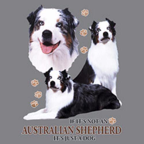 2X//3XL Cover Up Nightshirt Not a Australian Shepherd Just a Dog S//M-L//XL