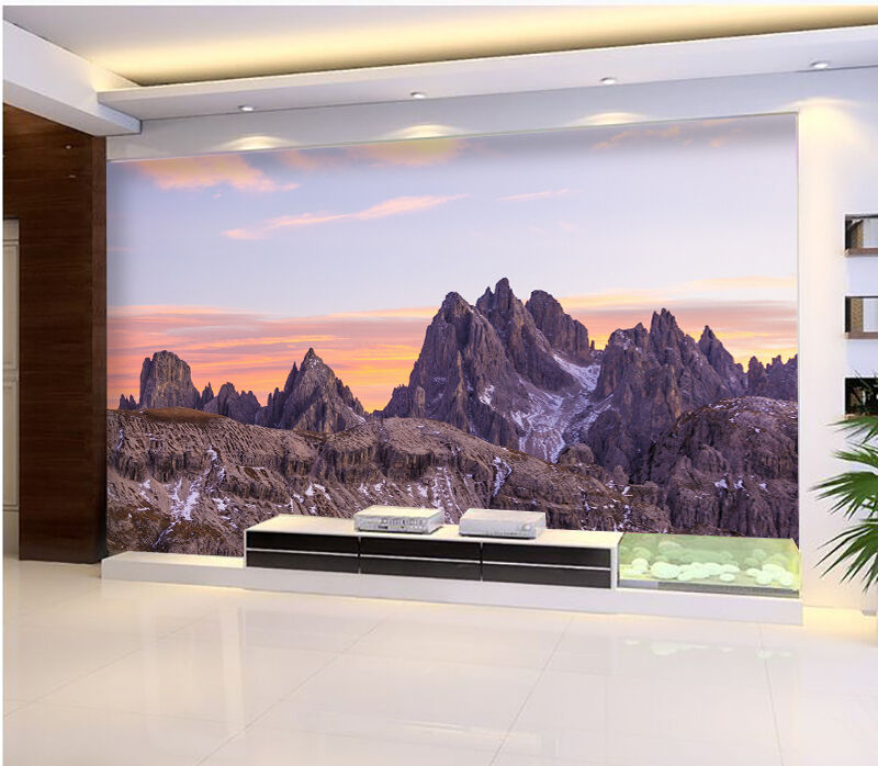 3D Mountain peak 0897 Wall Paper Wall Print Decal Wall Deco Indoor Wall Murals