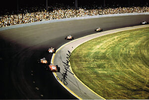 BOBBY-UNSER-Indianapolis-500-Winner-HAND-SIGNED-Racing-Legend-12x8-Photo-AFTAL