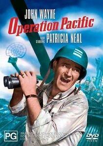 OPERATION-PACIFIC-1951-DVD-John-Wayne-ALL-PAL-SEALED-FREE-POST