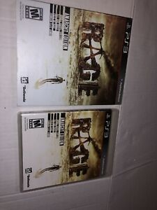 Rage (Sony PlayStation 3, 2011) Complete Tested Comes With Slipcover