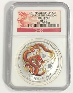 2012-P-1-NGC-MS70-COLORIZED-AUSTRALIA-LUNAR-YEAR-OF-THE-DRAGON-1-OZ-SILVER-RED