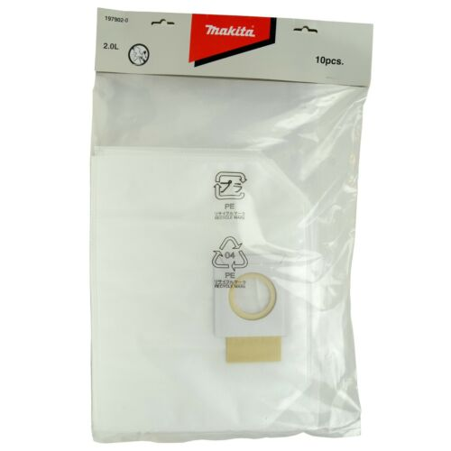 Makita 197902-0 Dust Bag for XCV05ZX 10-Pack