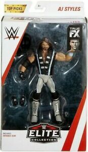 Elite-Action-Figures-WWE-AJ-Styles-Top-Picks-Mattel-Wrestling-New-Boxed