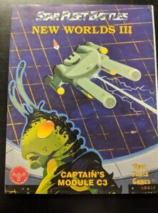 1x-Captain-039-s-Module-C3-New-Worlds-III-Used-Acceptable-Star-Trek-Star-Fleet-Bat