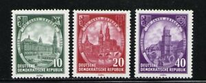 ALEMANIA-RDA-EAST-GERMANY-1956-MNH-SC-291-293-Dresden-75th