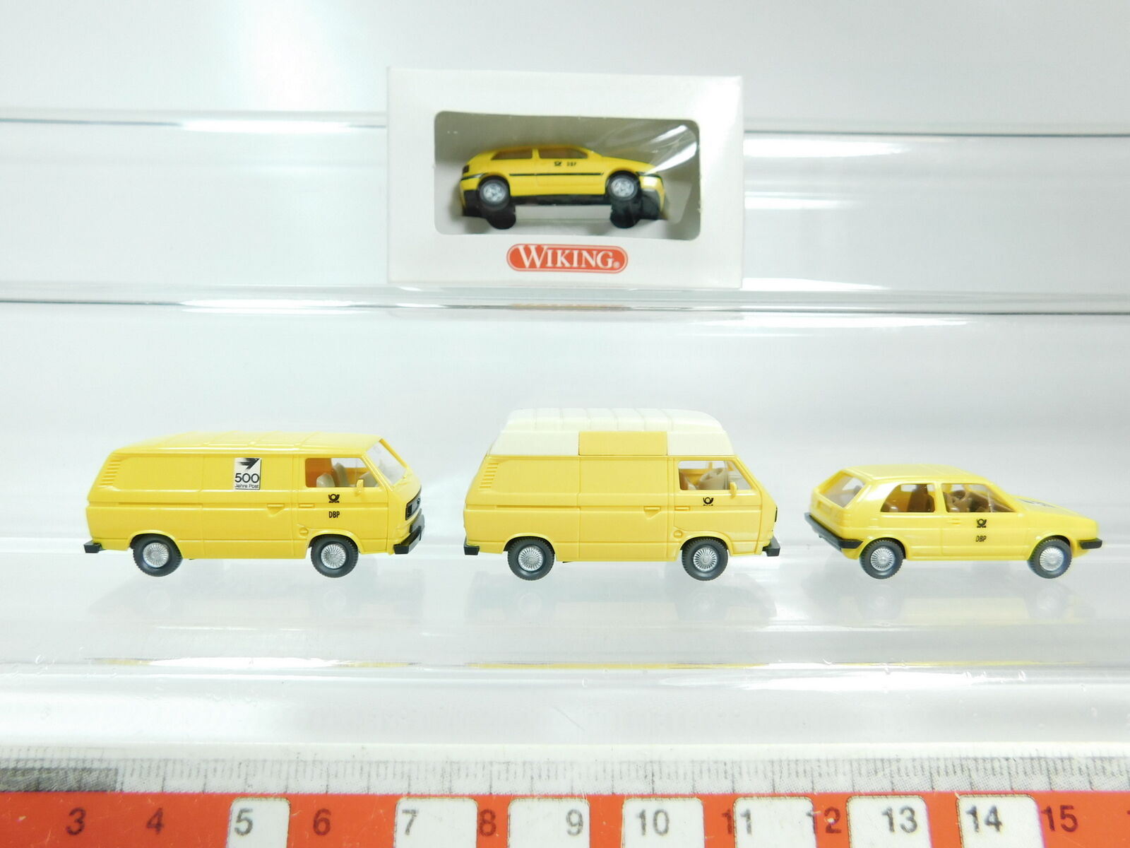 BH81-0,5 x wiking H0   1 87 post Model Volkswagen   VW  049 etc. ,Mint + 1x