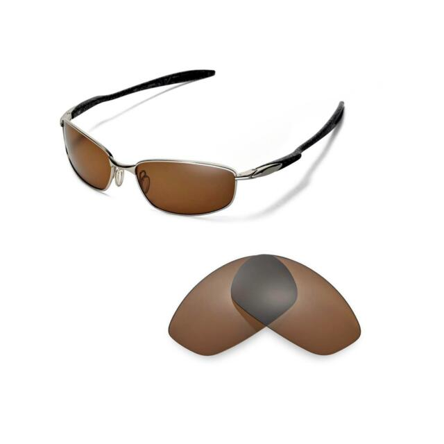 36691648d4 Walleva Polarized Brown Replacement Lenses for Oakley Blender ...