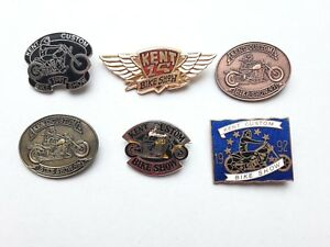 NEW-Hells-Angels-Kent-Custom-Show-Pin-Badges-91-92-93-94-96-97-Bike-Memorabilia