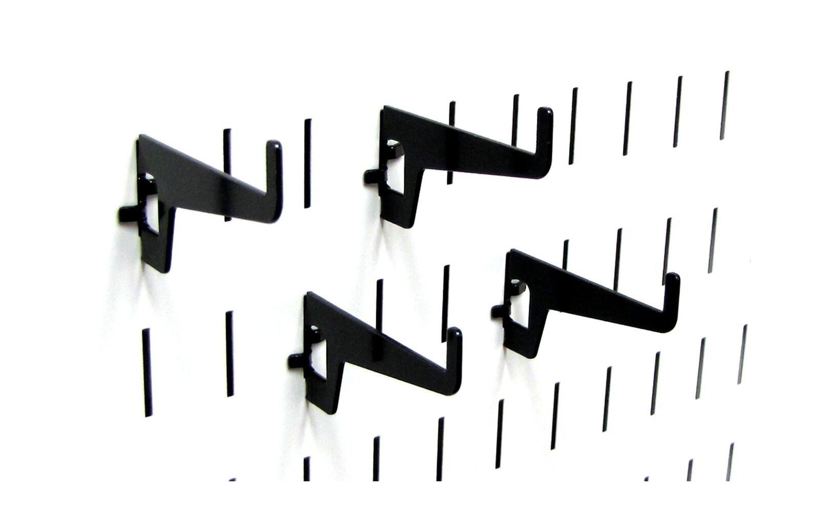 """Wall Control 10-HL-102 B 2-7//8/"""" Long Reach Slotted Pegboard Hook Pack for Wal..."""