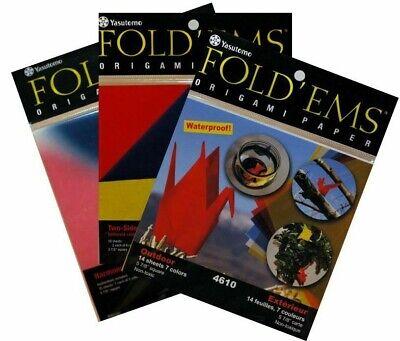 Fold Ems Origami Paper 5.875 24//Pkg-Yuzen II