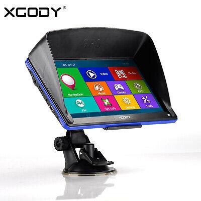 """XGODY 886 7"""" Pantalla Táctil GPS Navegador del coche camión EU MAPA256MB 8G ROM"""