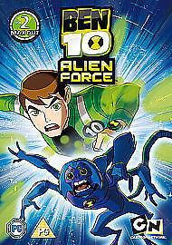 Ben-10-Alien-Force-Volume-2-Max-Out-DVD-2010-Excellent-DVD-Ashley-Joh
