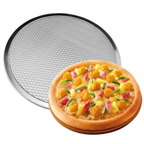 Pizzagitter Pizzablech Pizza Screen Pizzaform Backblech Rund 10-15 /'/' Aluminium