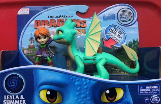 Dar /& Winger With Sounds Dragons Rescue Riders Set Leyla /& Summer Dar /& Burple
