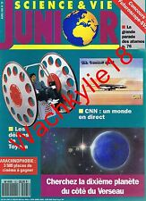 Science et vie junior n°25 du 04/1991 Toyota CNN Pygmées
