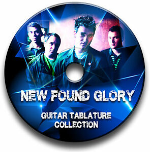 NEW FOUND GLORY POP PUNK ROCK GUITAR TAB TABLATURE SONG BOOK SOFTWARE CD