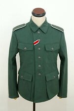 WWII German M42 heer summer HBT reed green field tunic S