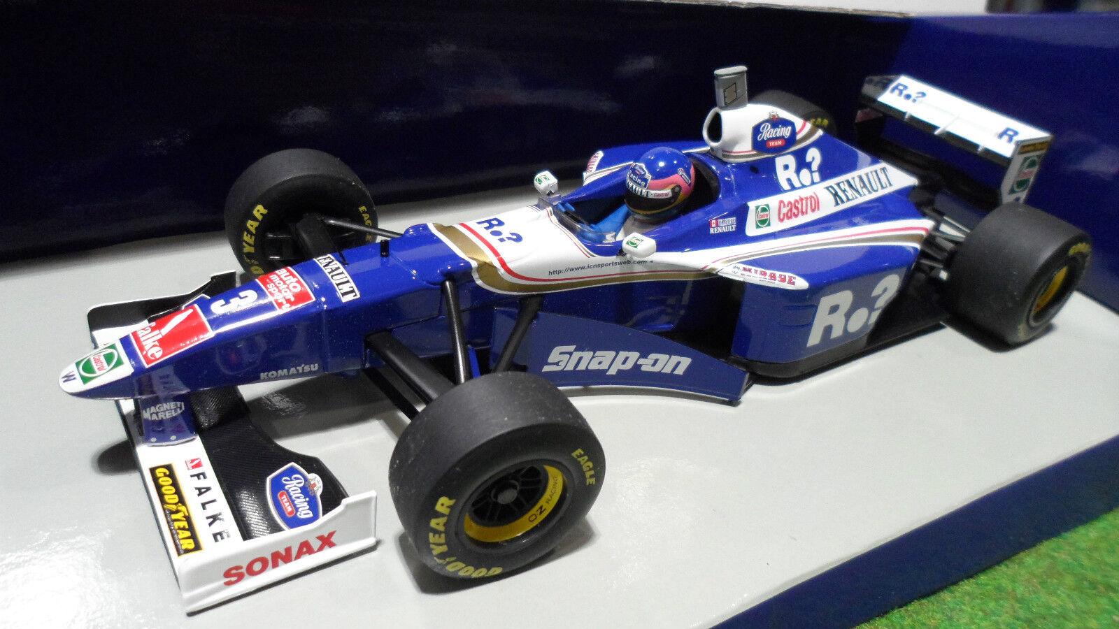 F1 WILLIAMS RENAULT FW19 VILLENEUVE 1 18  MINICHAMPS 180970003 voiture miniature