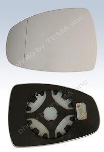 piastra vetro specchio BMW X1 2009 retrovisore SX asferico termico sinistro