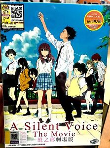 a silent voice movie dvd english subtitle japan anime ebay