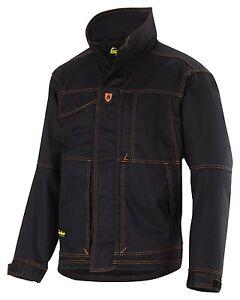 Winter Flame Snickers Retardant Black Jacket Workwear 1157 I7BwBx