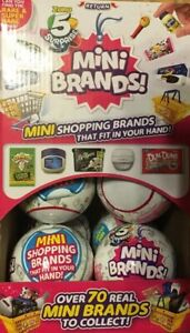 5 Surprise Mini Brands Full Case Box Of 12 Balls Zuru Lol Barbie