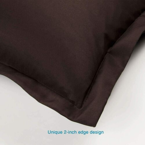 Details about  /Ultra Soft Microfiber Standard Pillow Shams 2-Pack 20x26 in