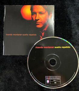 Audio-CD-RICARDO-MONTANER-Sueno-Repetido-USED-Excellent-EX-WORLDWIDE