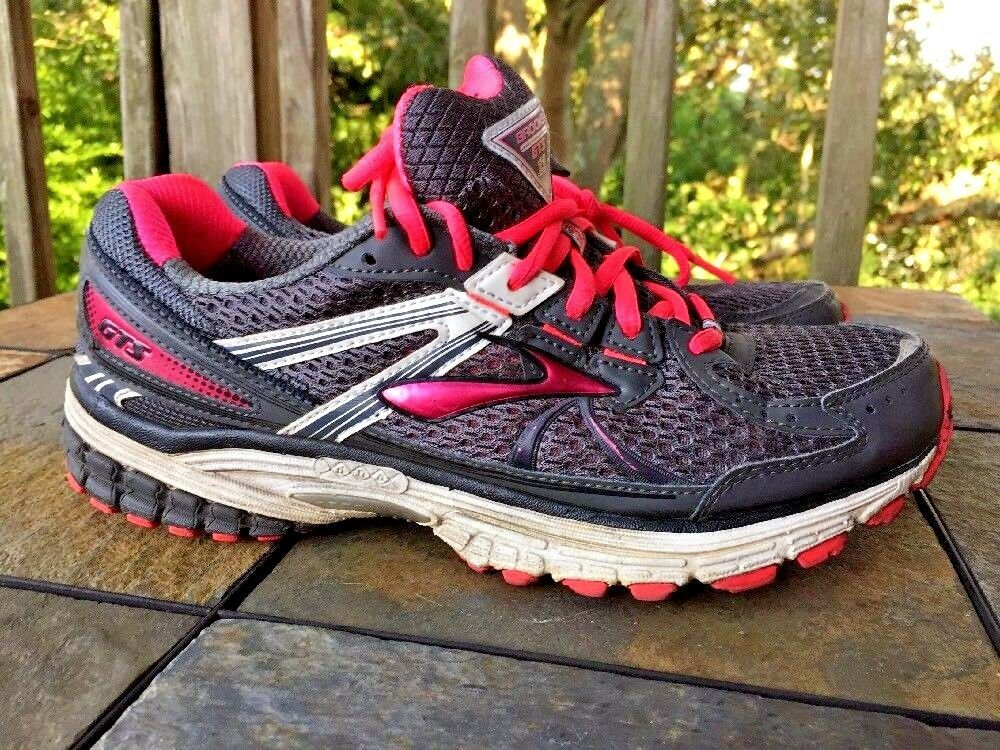 BROOKS GTS ADRENALINE 13 Running Walking Athletic Sneakers Damenschuhe Schuhes Sz 10