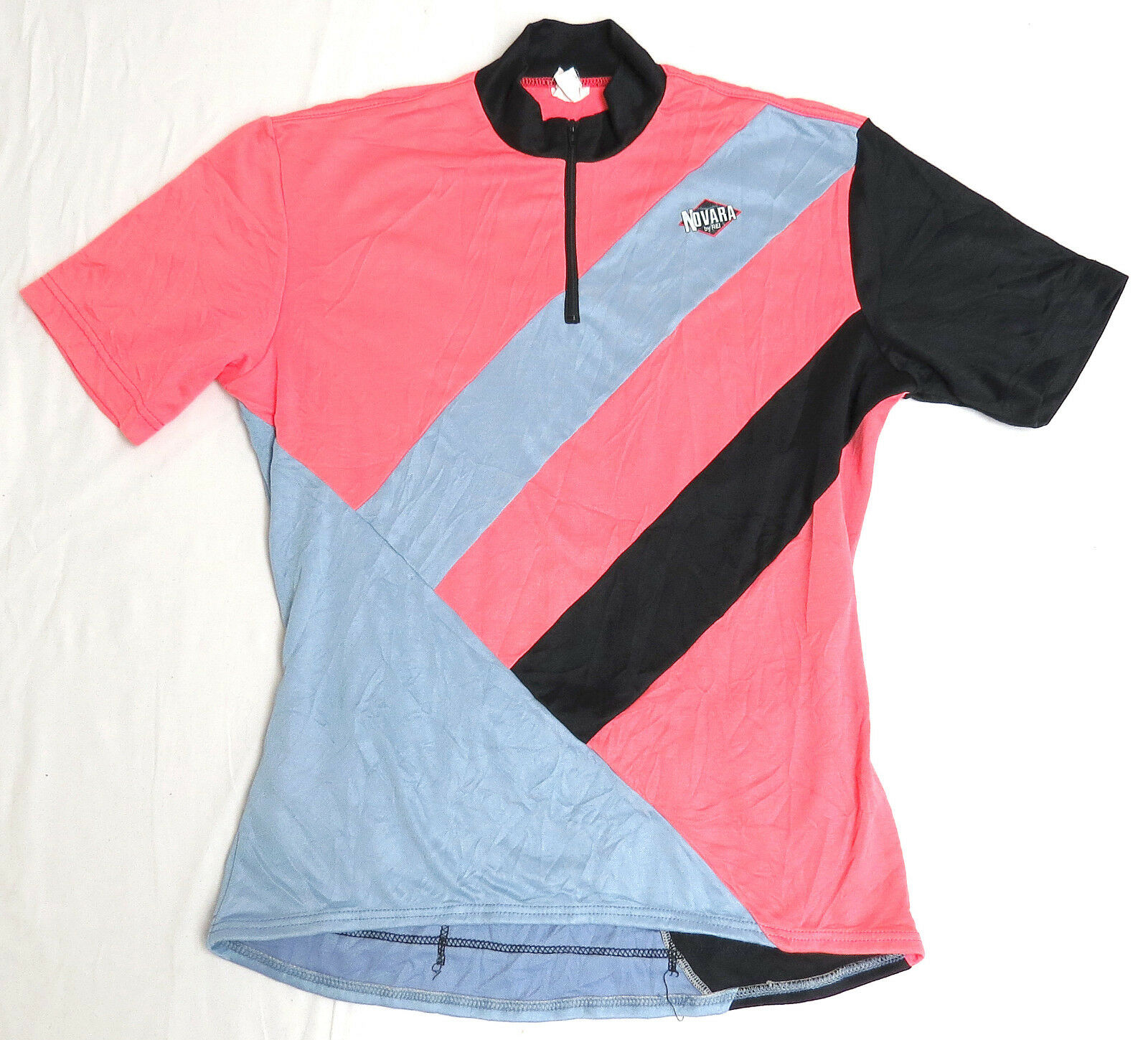 Vtg REI NOVARA Cycling Jersey SMALL 90s  Bellwether bike neon pink rare  wholesale price