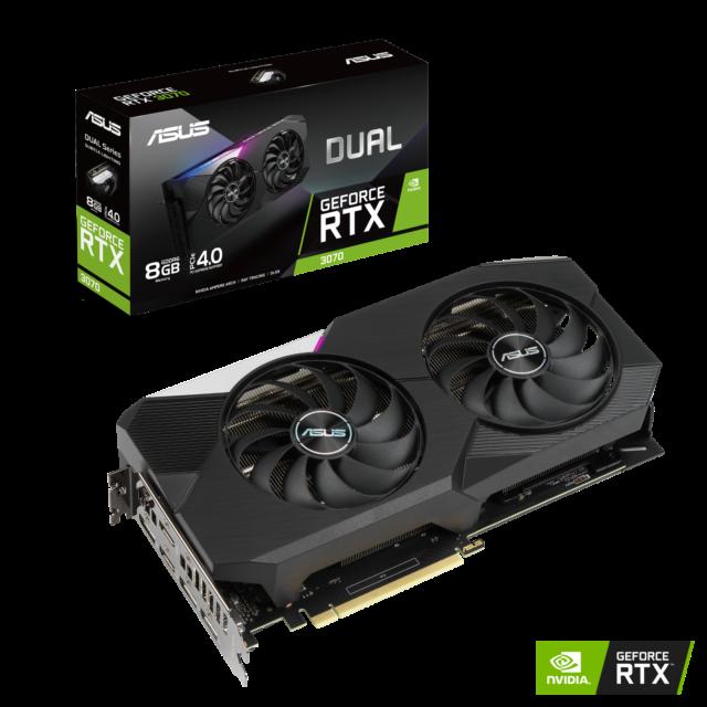 """RTX 3070 ASUS DUAL OC 8GB GDDR6 """"NUOVA"""""""
